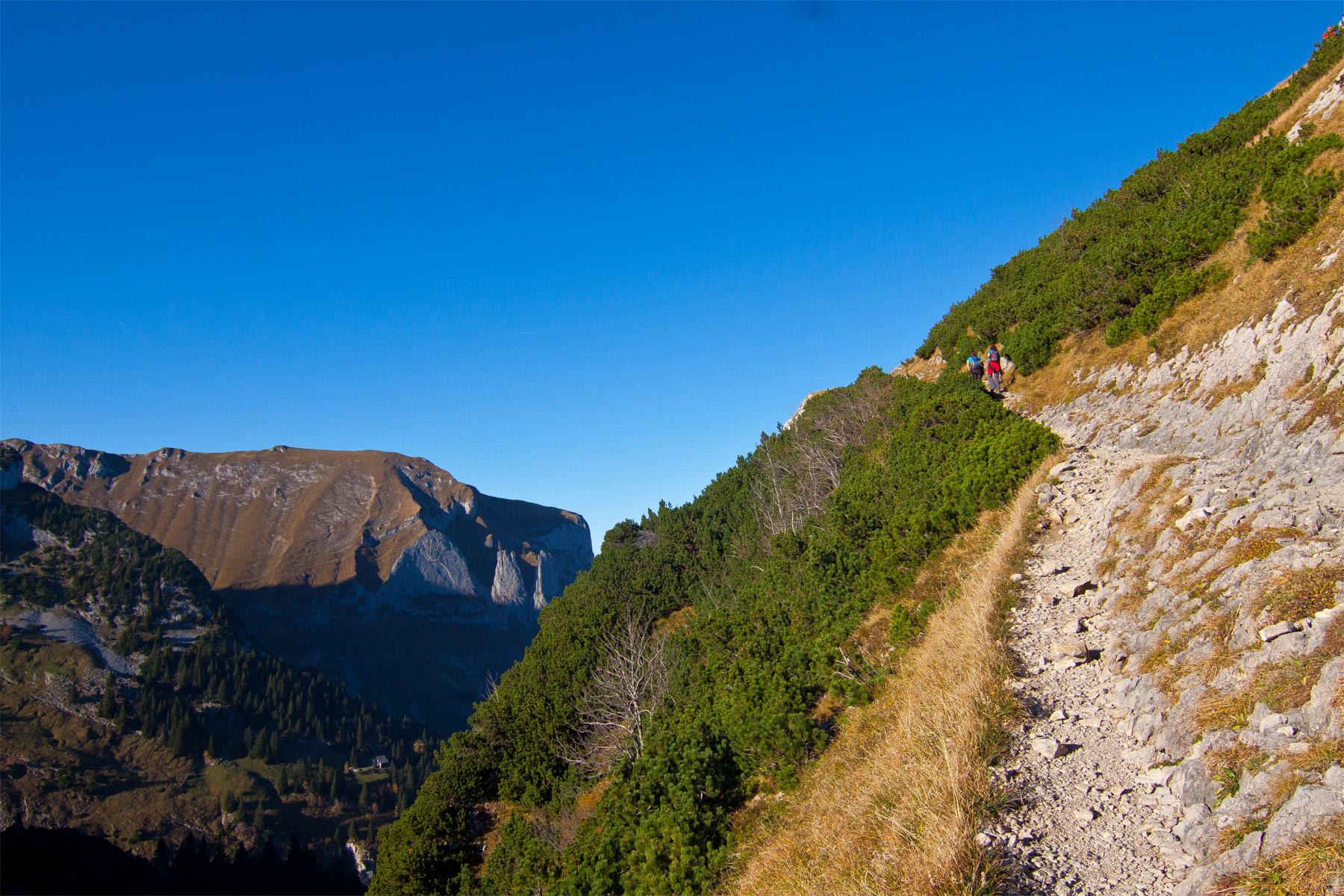 Fußweg Saxer Lücke Richtung Staubern