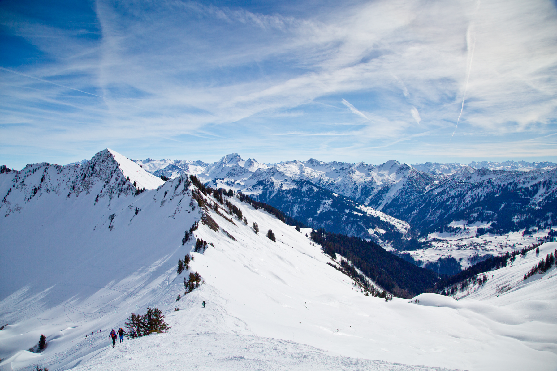 Großes Walsertal, Mitte Rote Wand