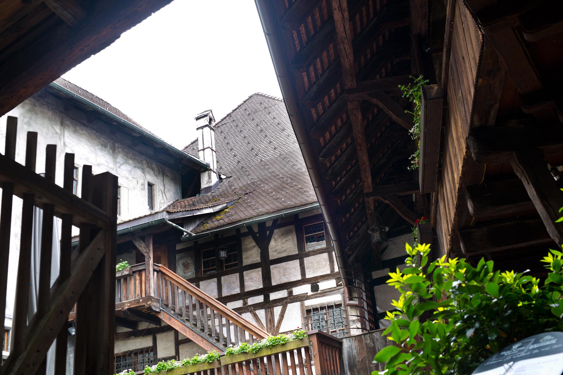 Schattenburg Innenhof