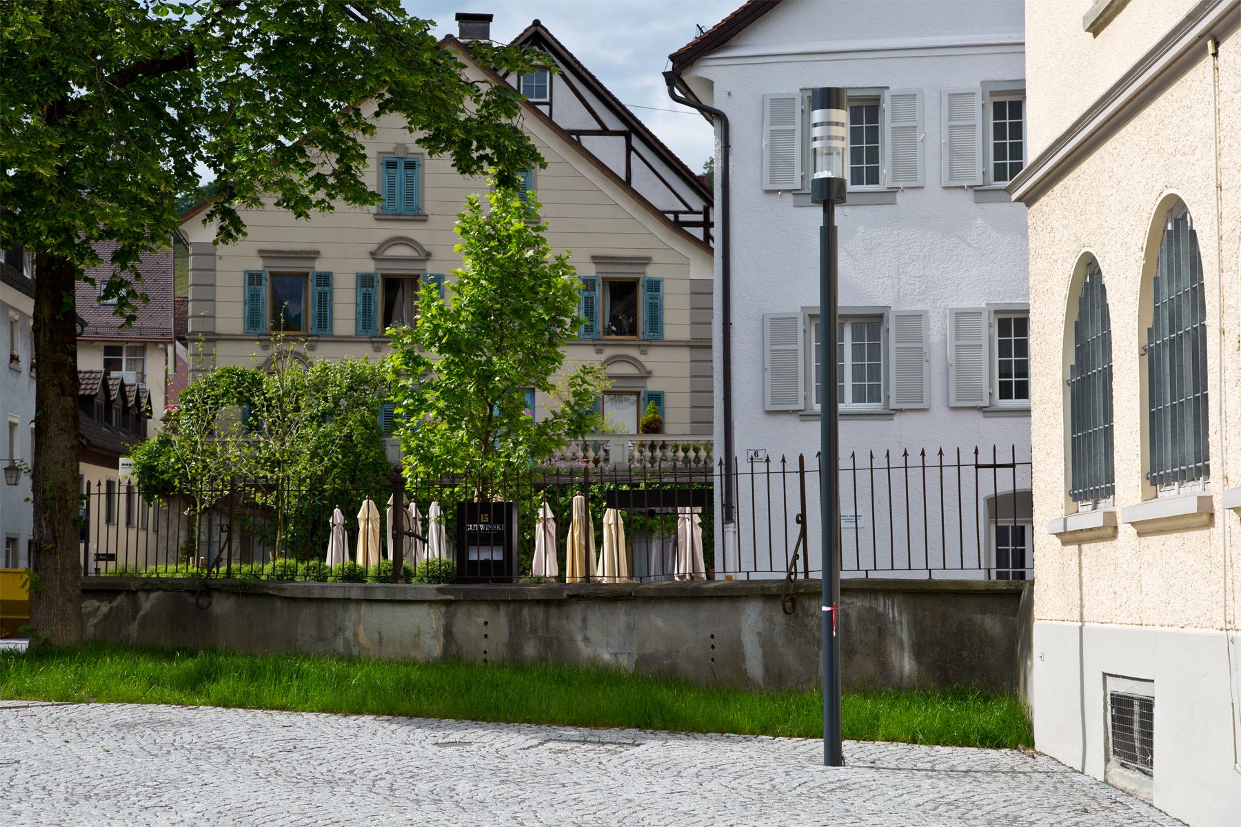 Feldkirch Gymnasiumgasse, Hotel Gutwinski
