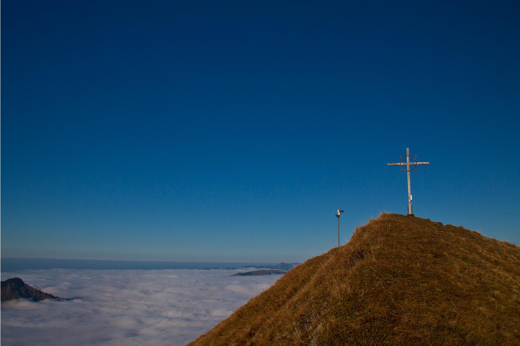 Gipfelkreuz Sünsrspitze