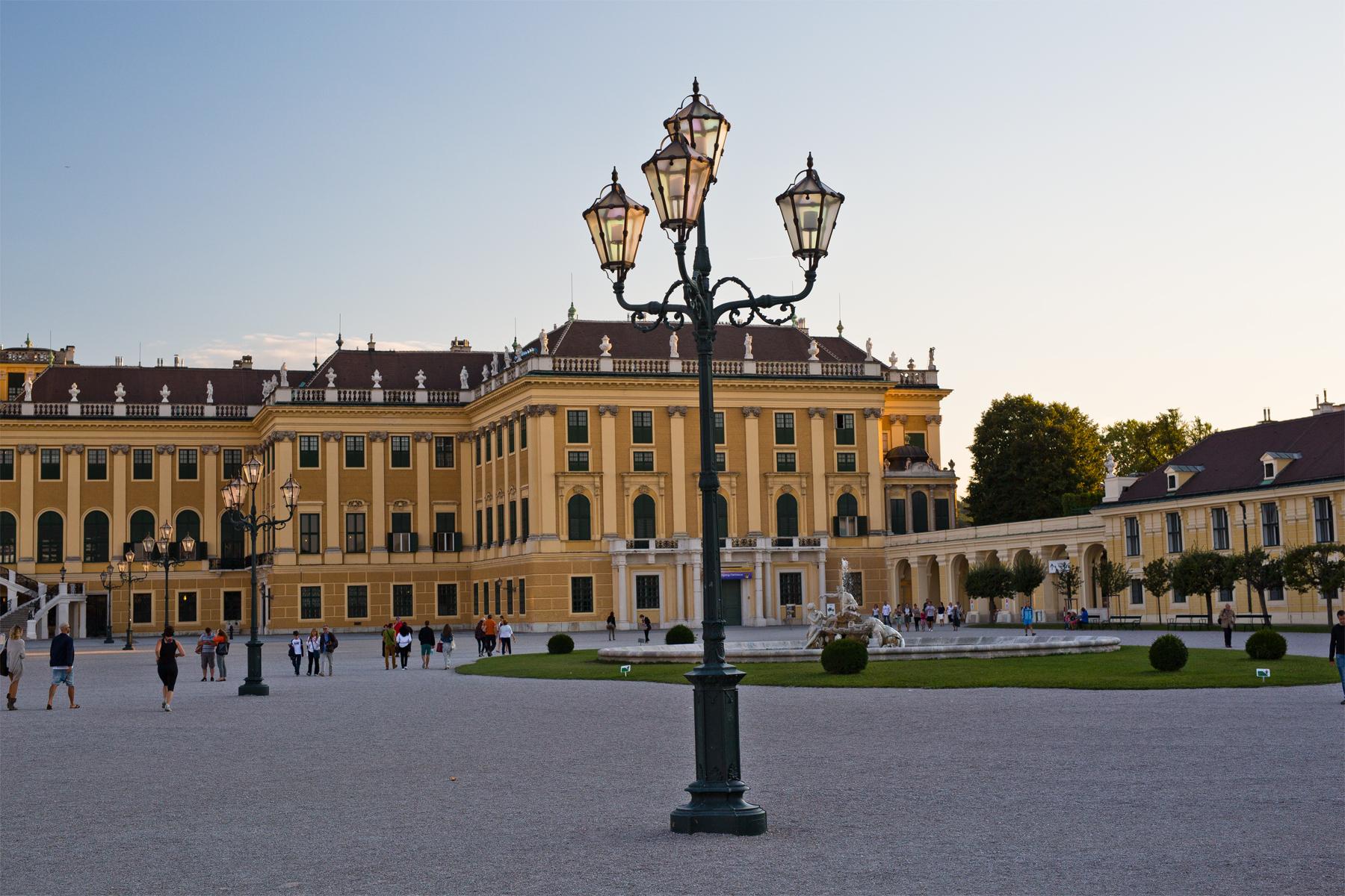 Haupteingang Schloss Schönbrunn