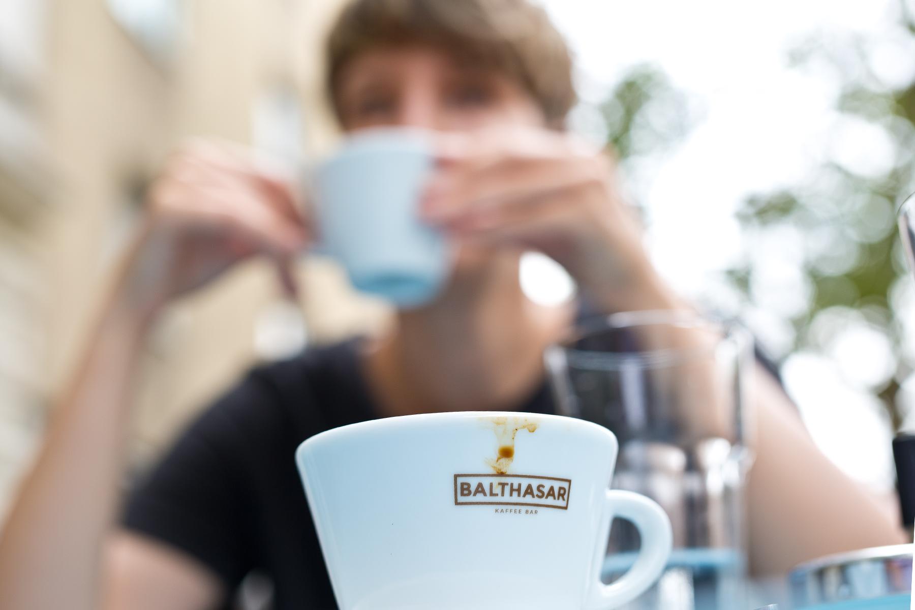 Cappuccino getrunken