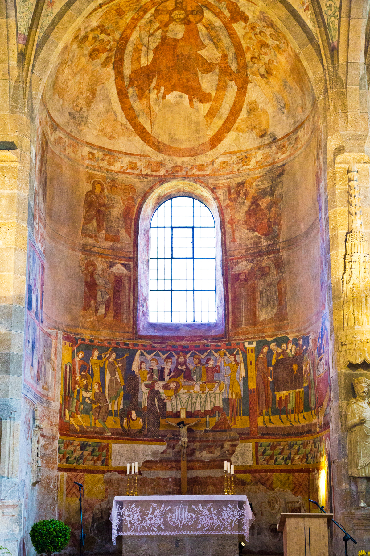 Ansicht Altar