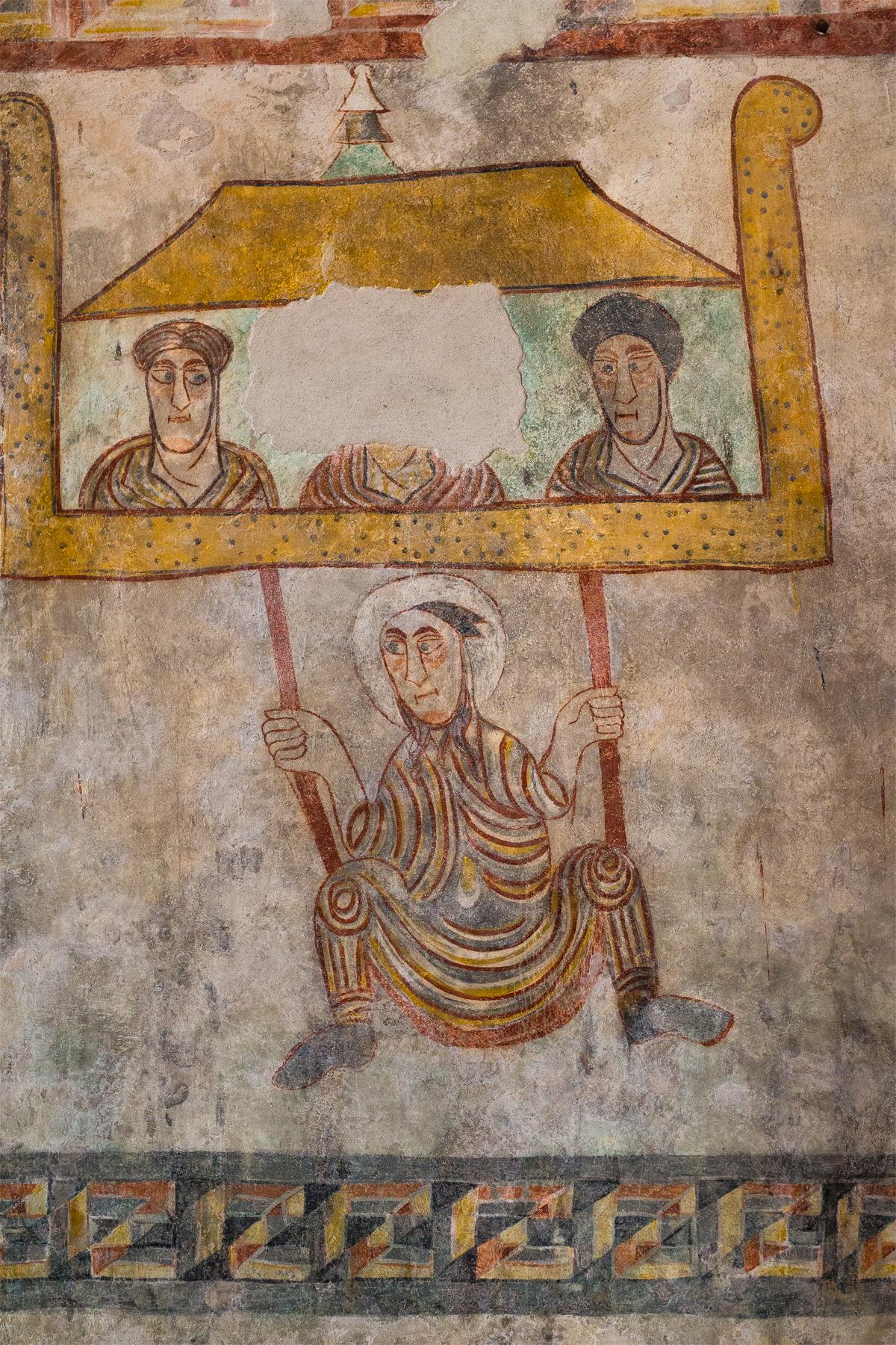 Romanische Wandmalerei