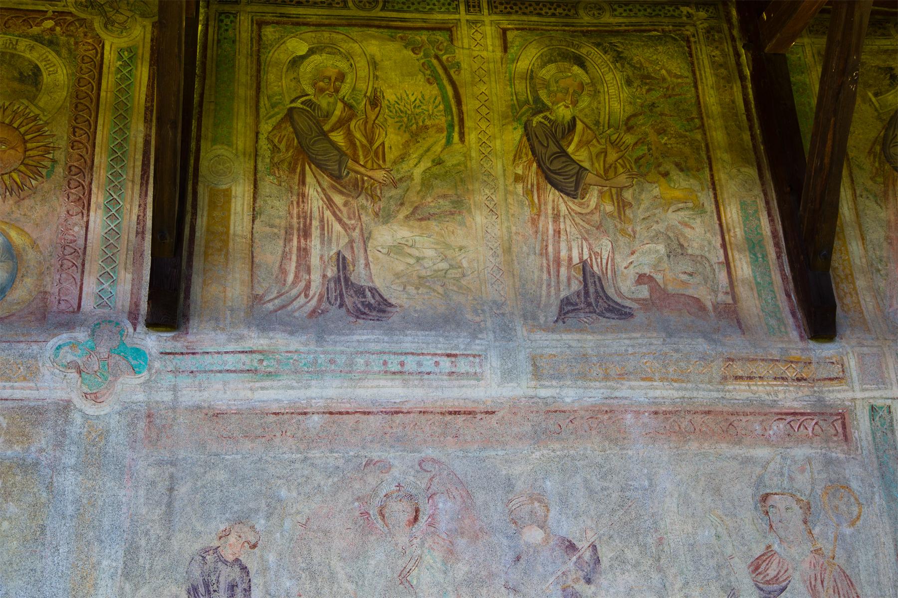 Fresken Aussenwand