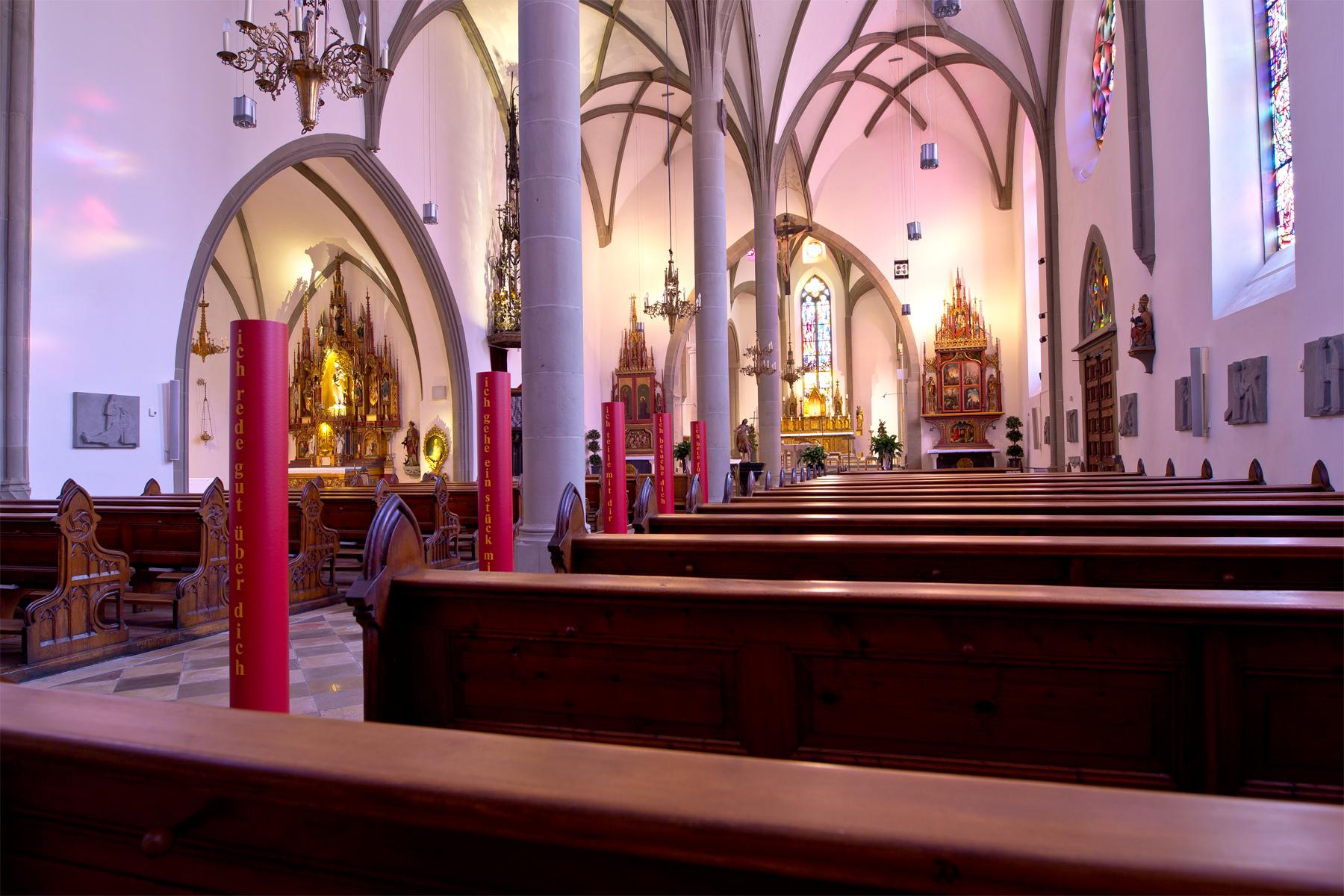 Innenansicht Dom St. Nikolaus,