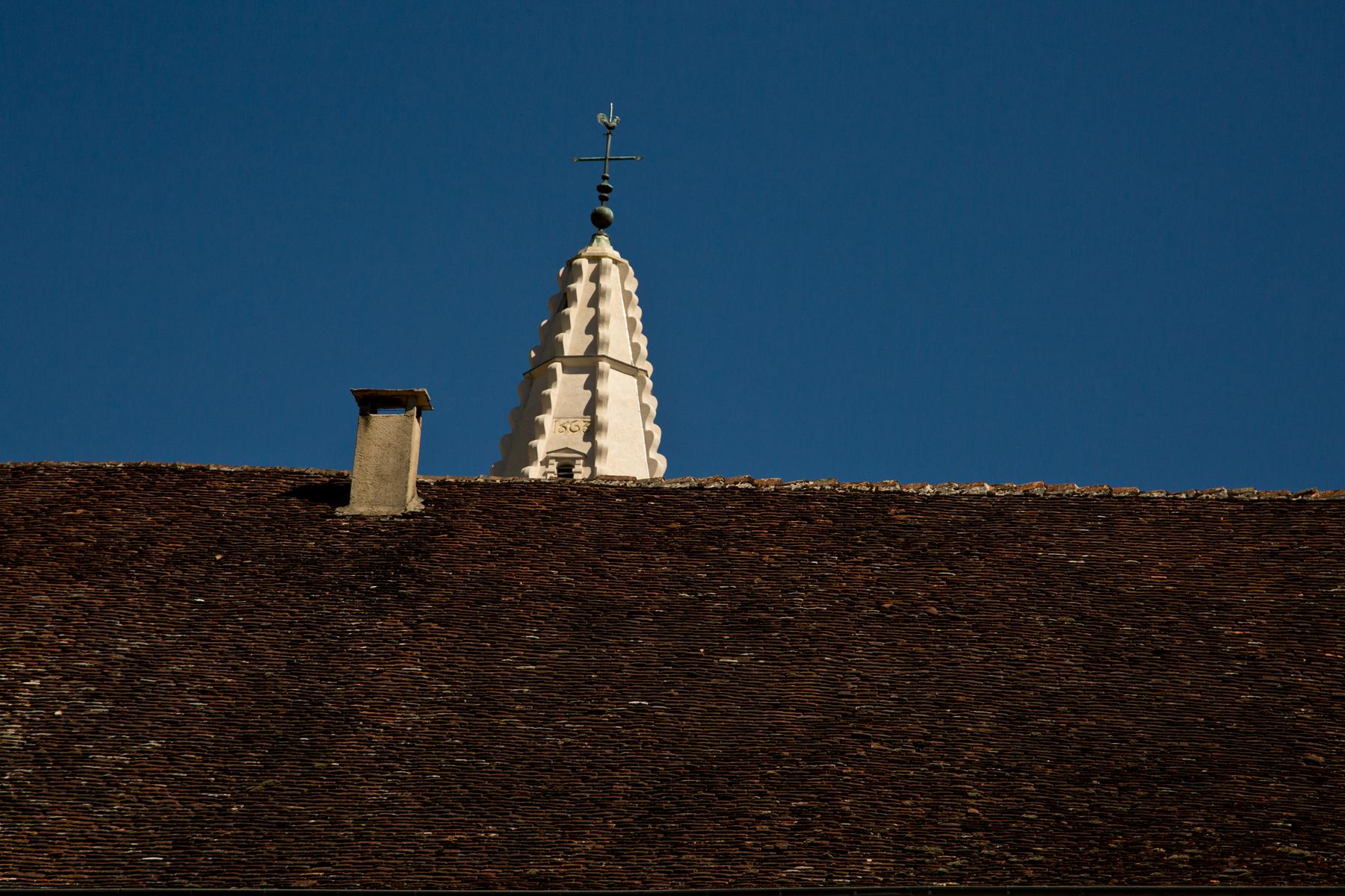 Dach und Turm