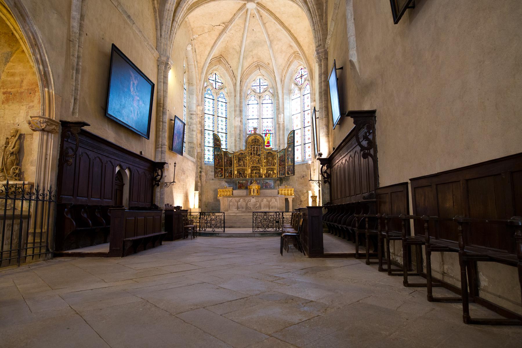 Altarraum  Saint Pierre