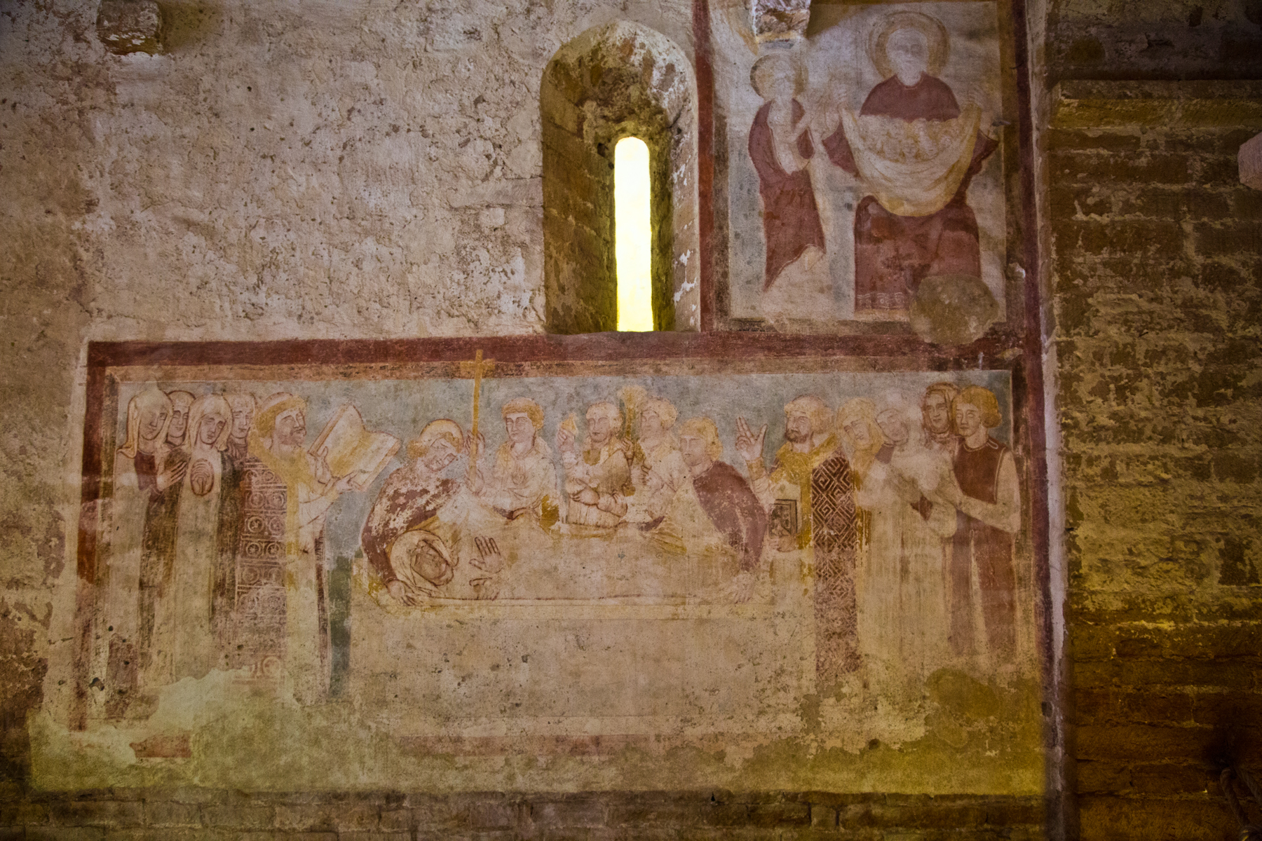 Fresken St. Pierre Brancion