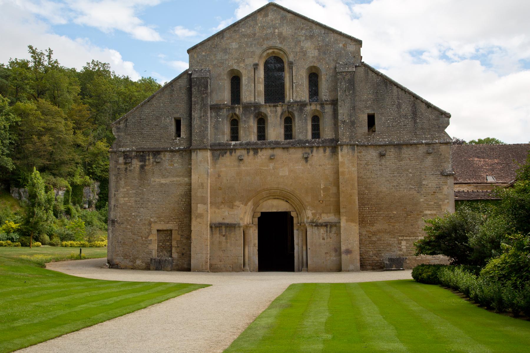 Westfassade Abteikirche