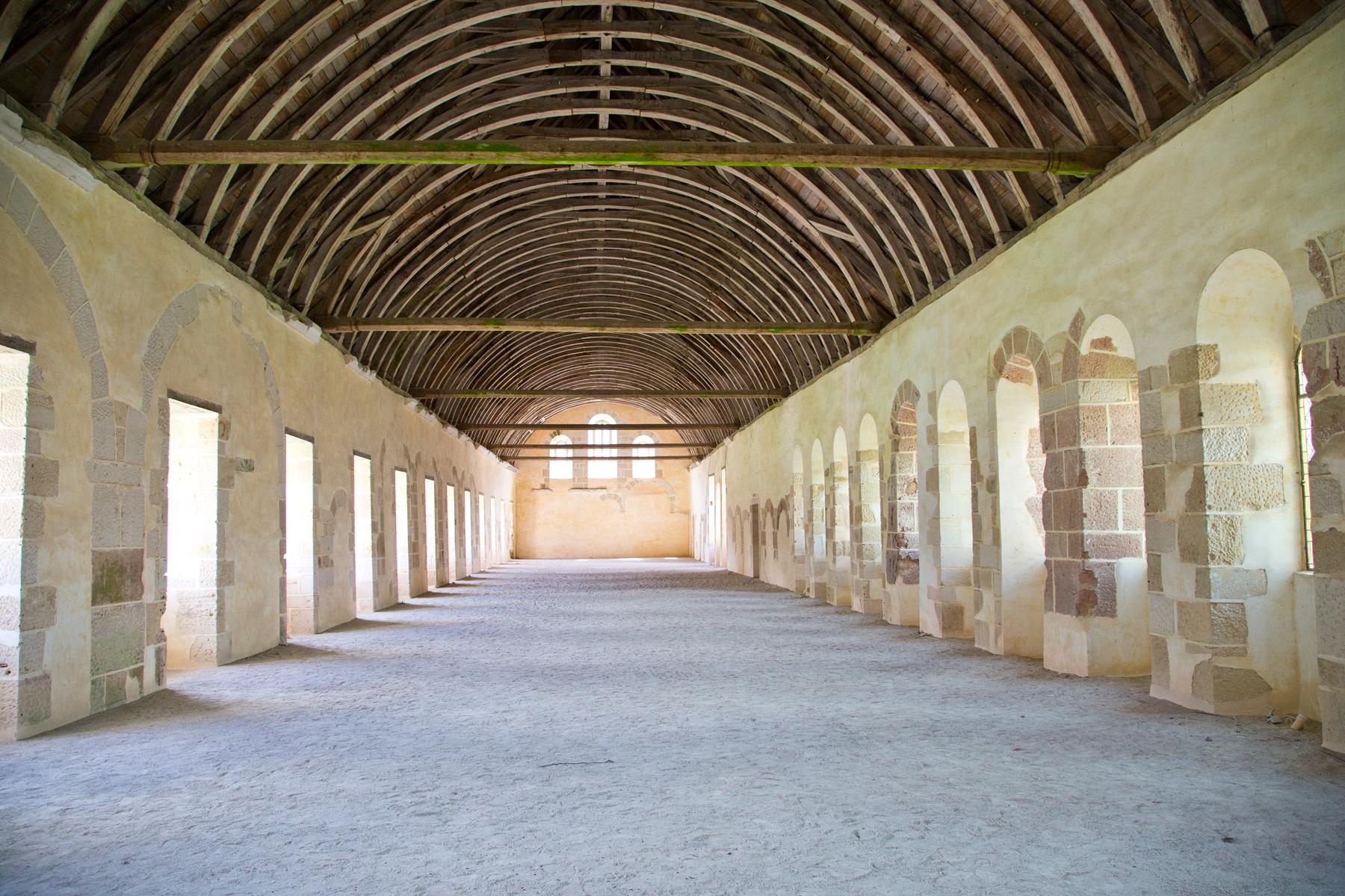 Schlafsaal der Mönche