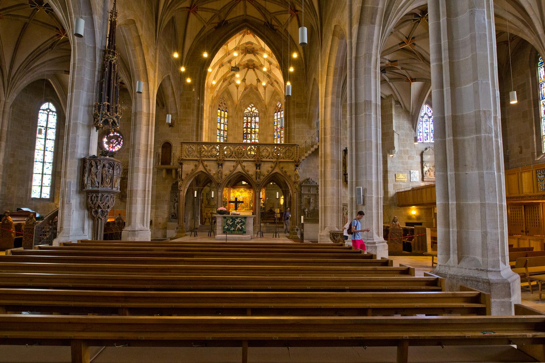 Mittelschiff St. Georg
