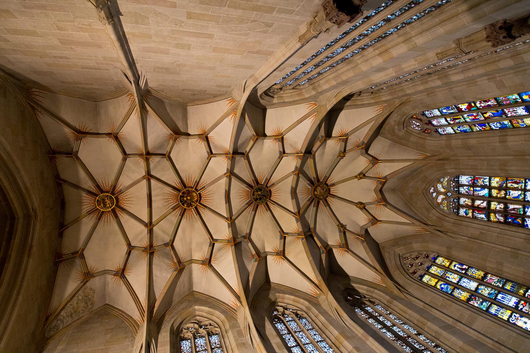Deckengewölbe Chroraum
