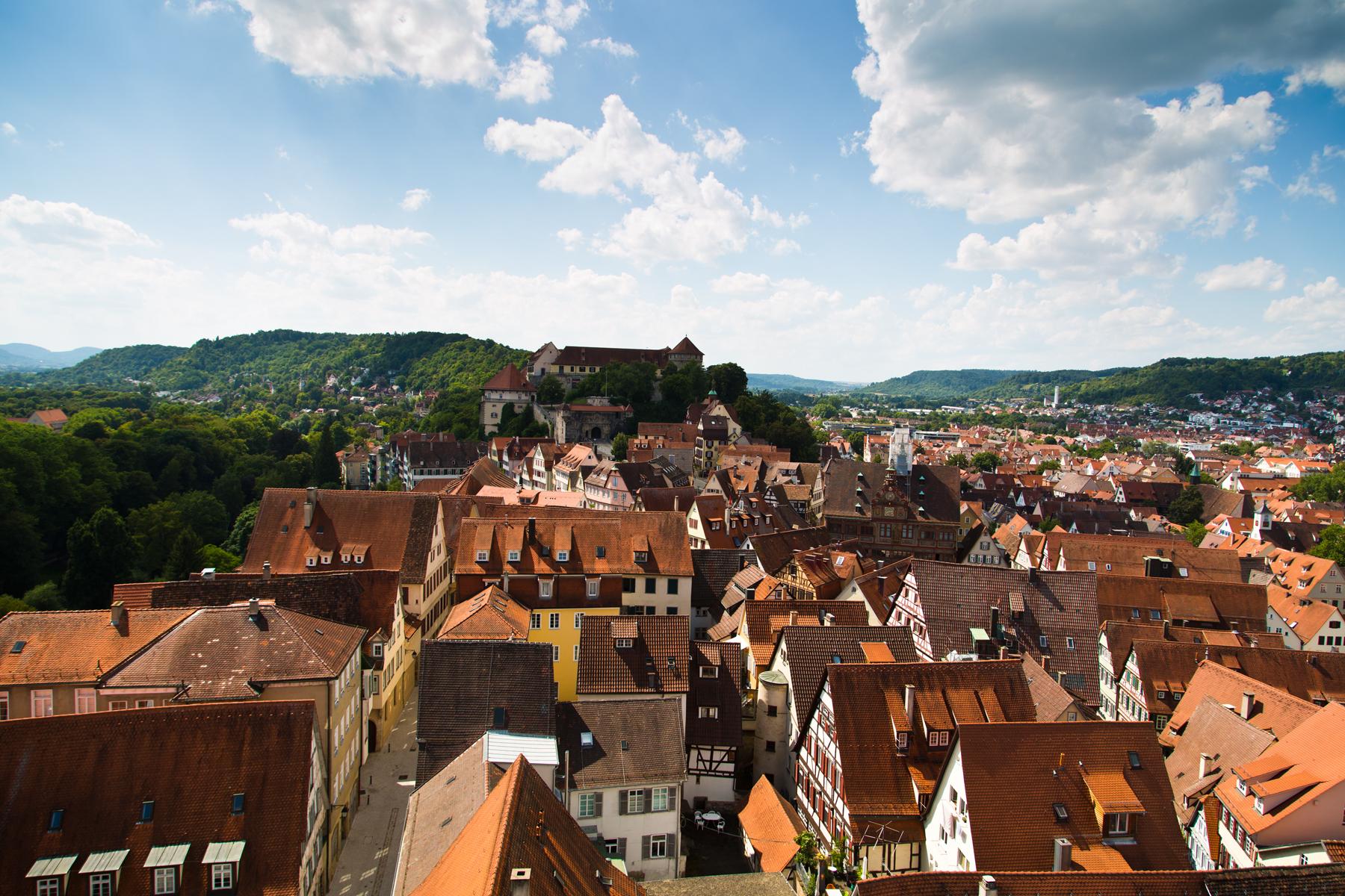 Altstadt mit Schloss und Rathaus