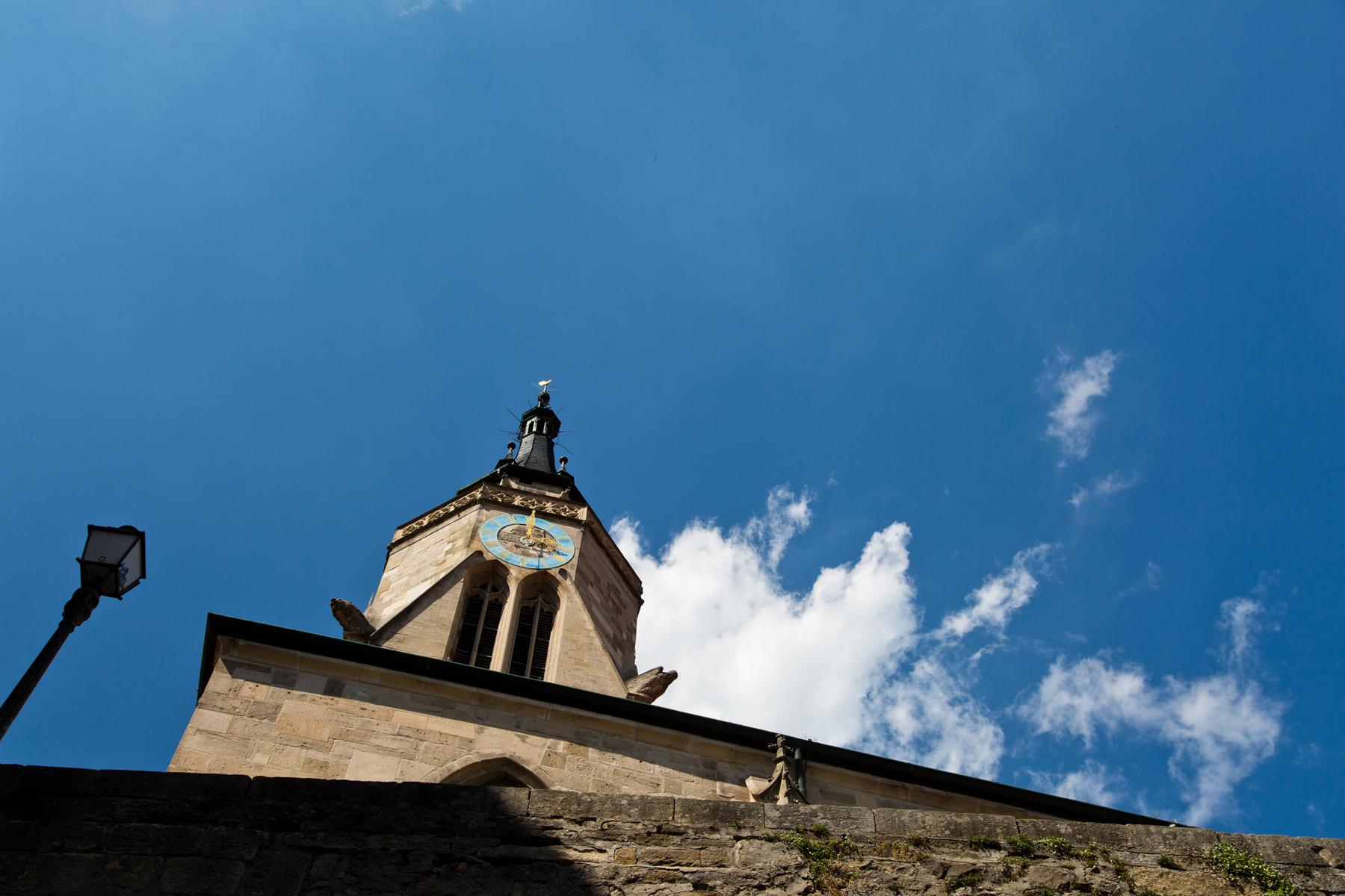 Kirchturm Stiftskirche St. Georg