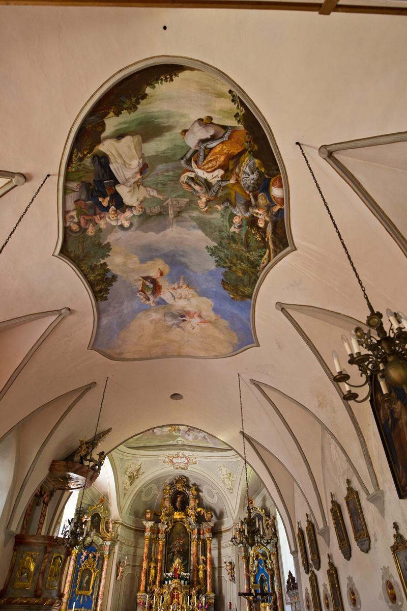 Deckenfresko St. Sigmund