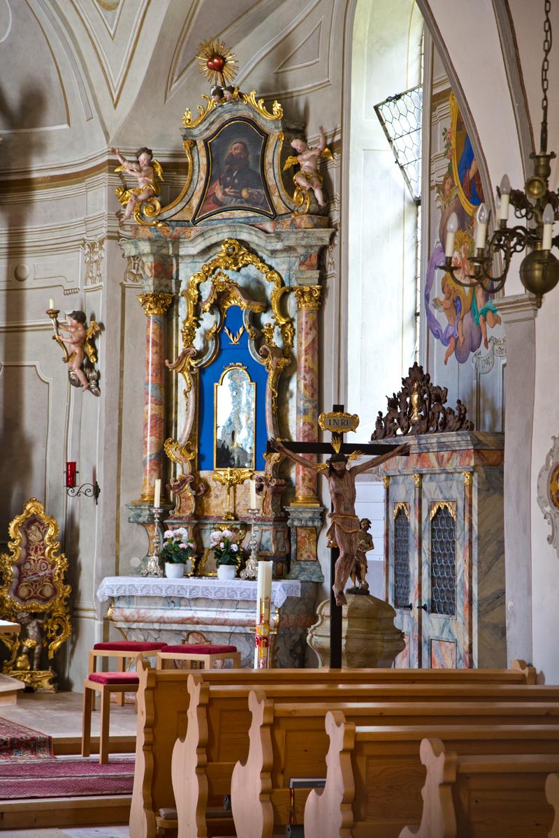 Rechter Seitenaltar St. Sigmund