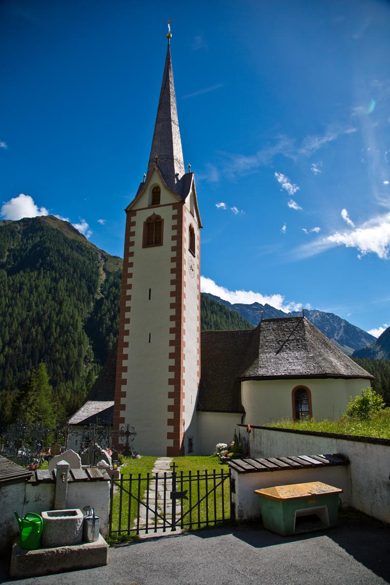 Kirche St. Sigmund im Sellrain