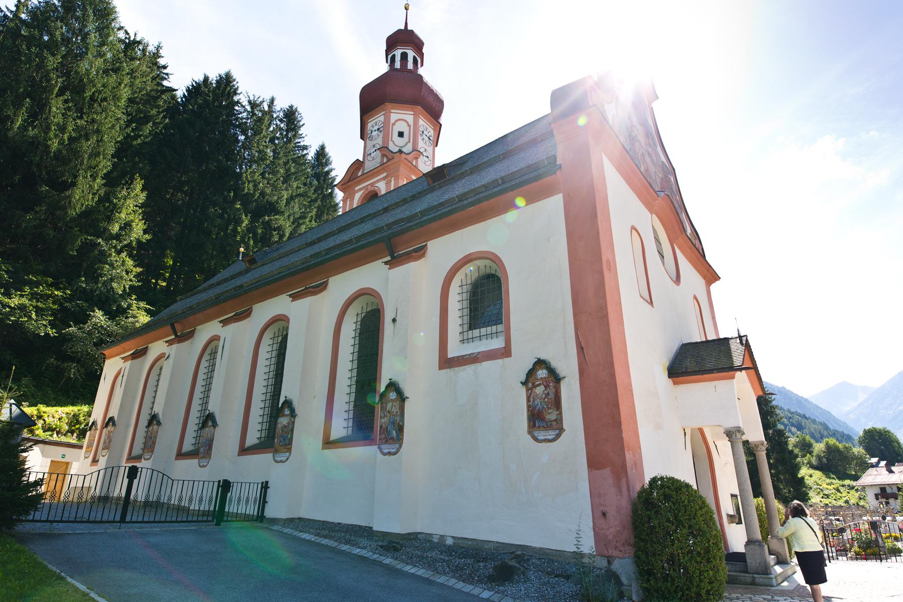 Kirche St. Martin - Gries im Sellrain, Tirol