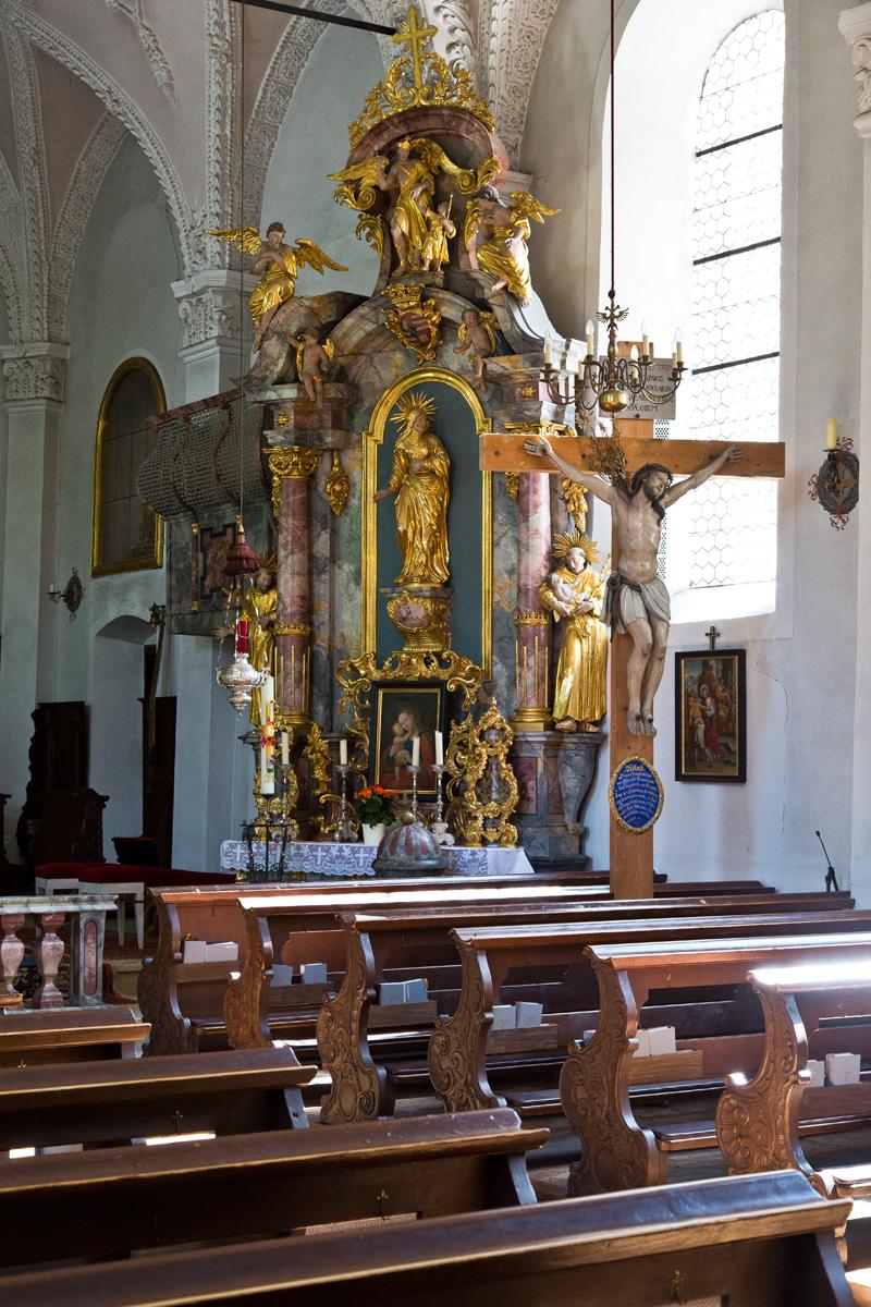 Rechter Seitenaltar, St. Martin - Gries im Sellrain, Tirol