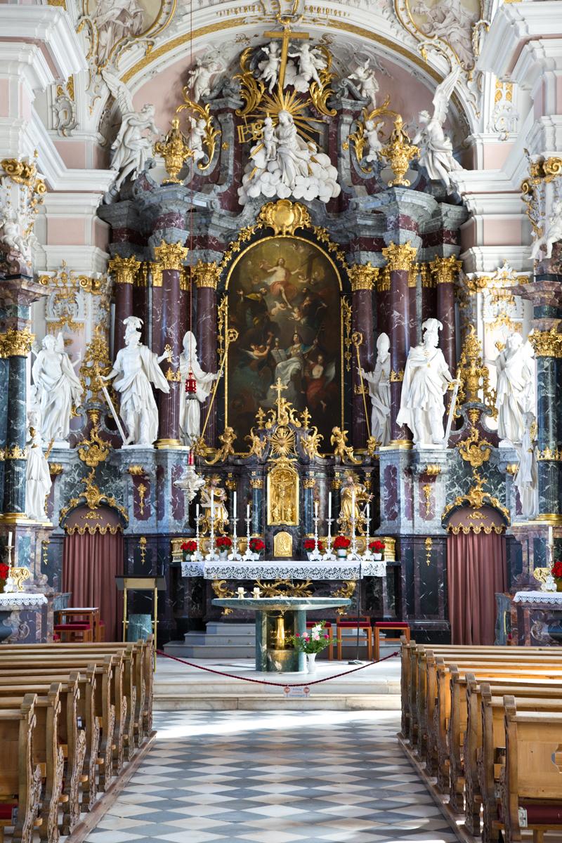 Hochaltar St. Peter und Paul - Götzens, Tirol