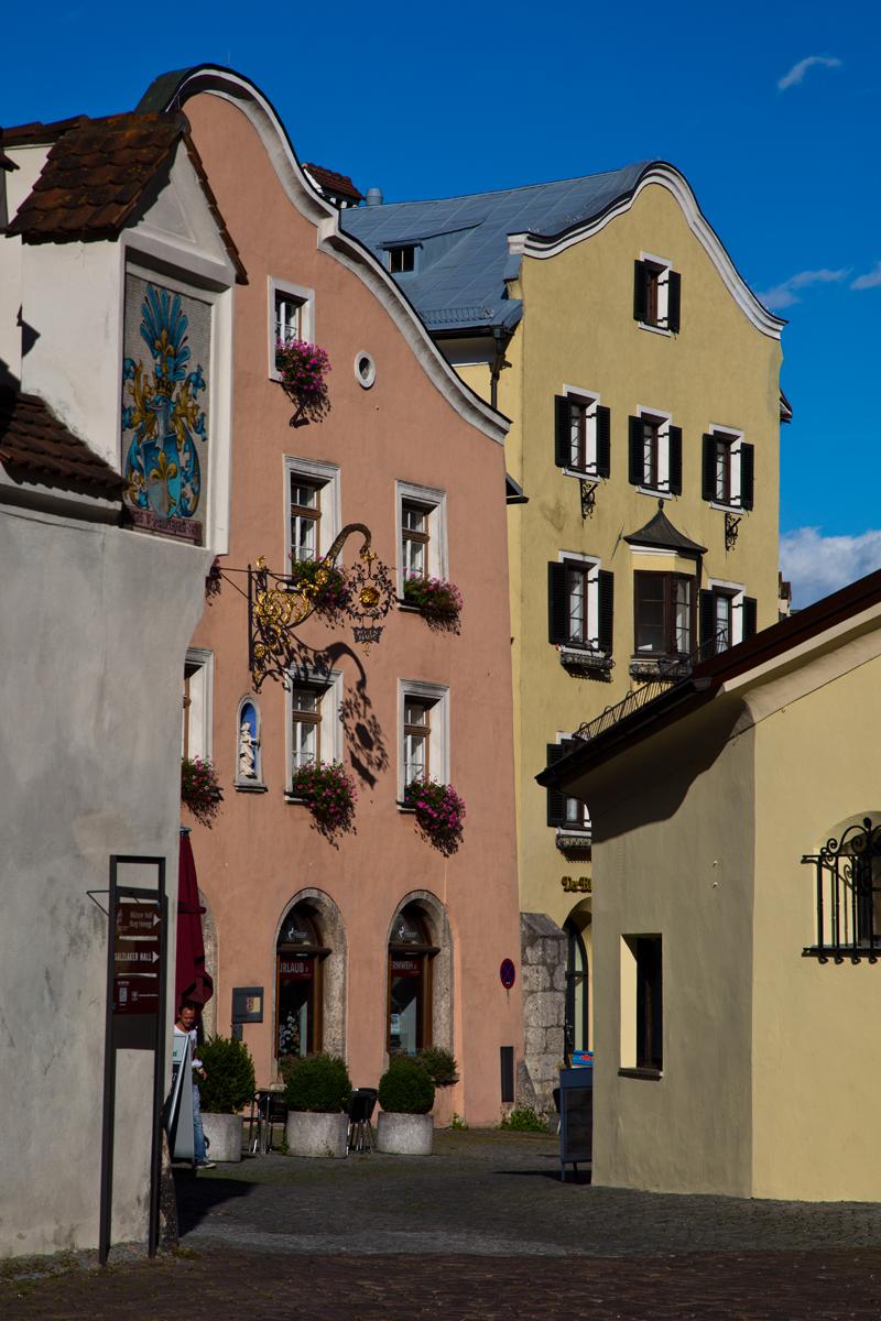 Bürgerhäuser - Hall in Tirol