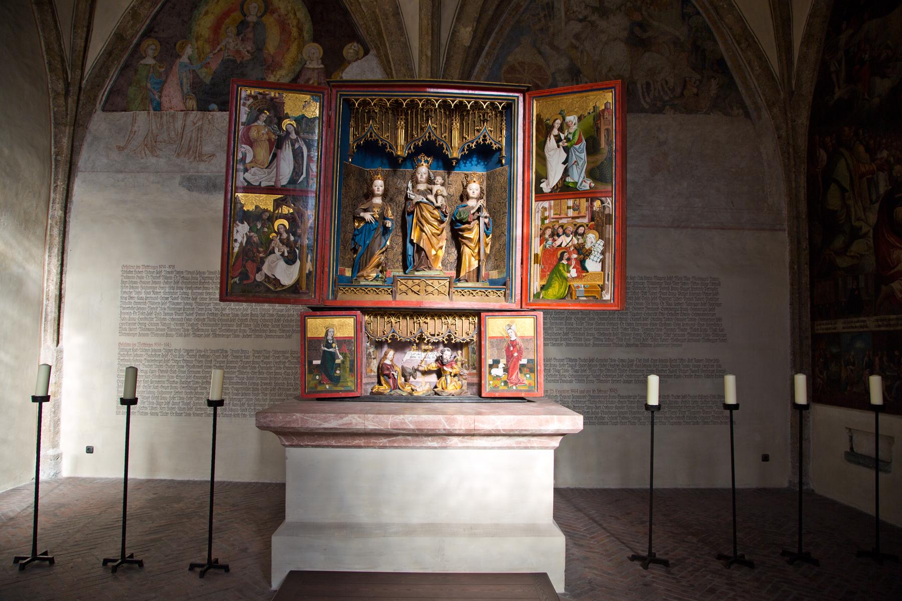 Flügelaltar Magdalenenkapelle - Hall in Tirol
