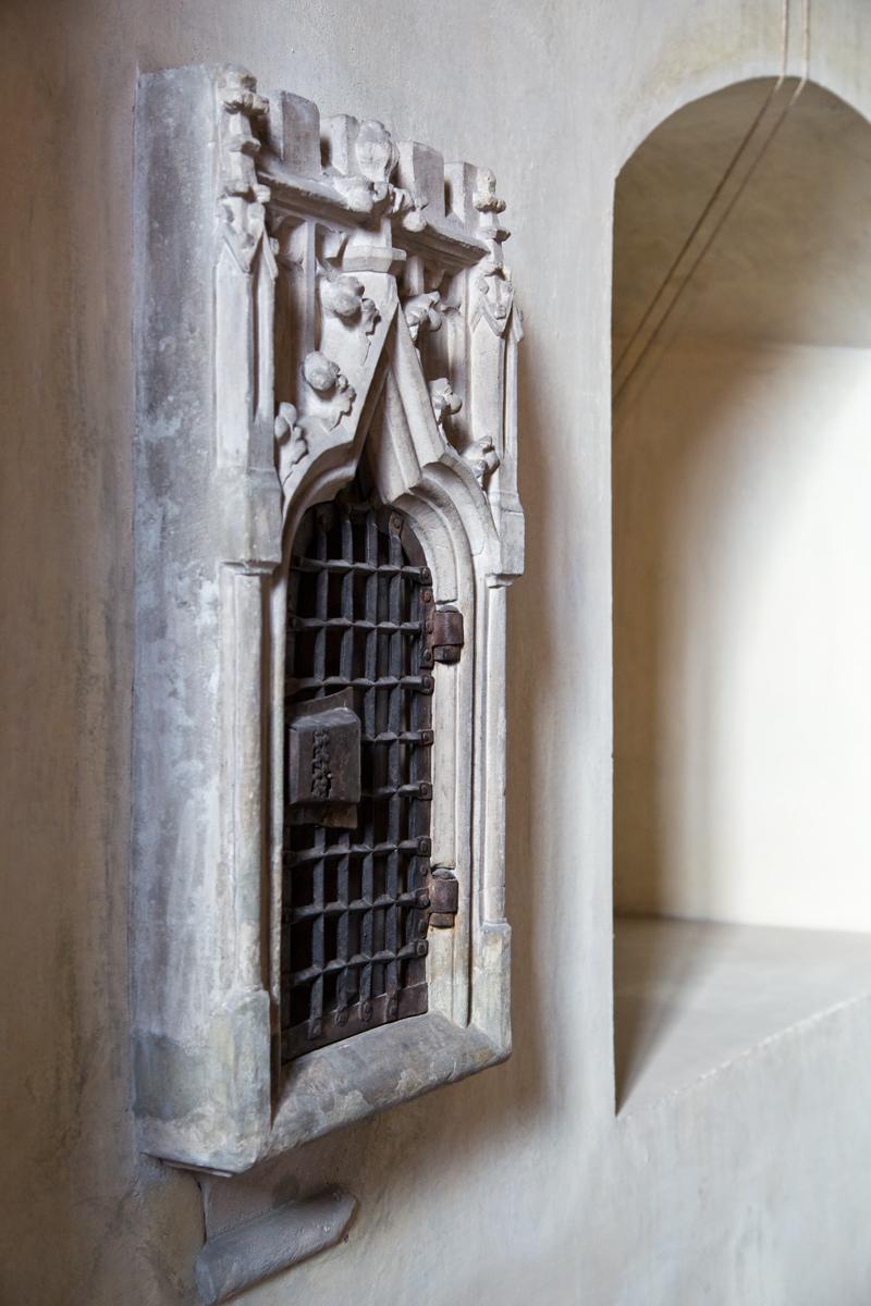 Gotisches Sakramentshäuschen - Magdalenenkapelle, Hall in Tirol