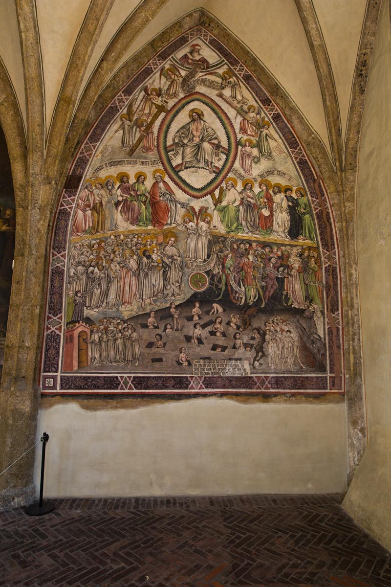 Fresko Weltgericht; Magdalenenkapelle - Hall in Tirol
