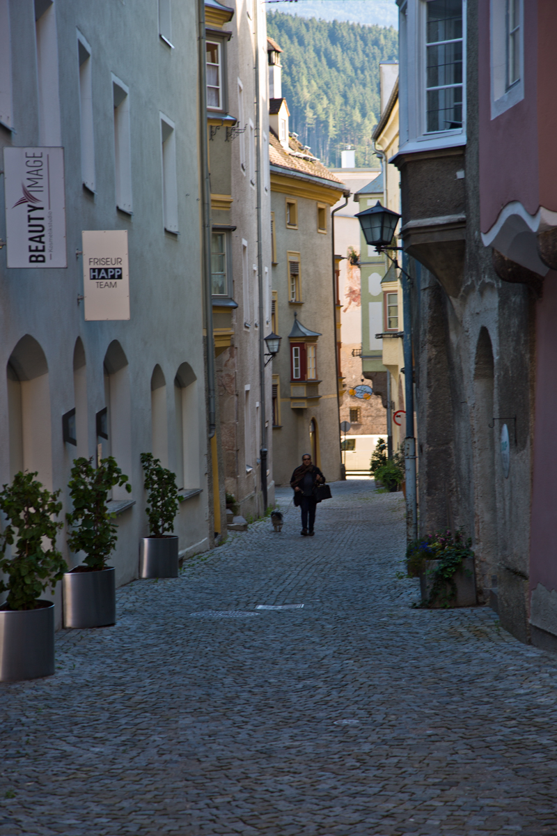 Gasse - Hall in Tirol