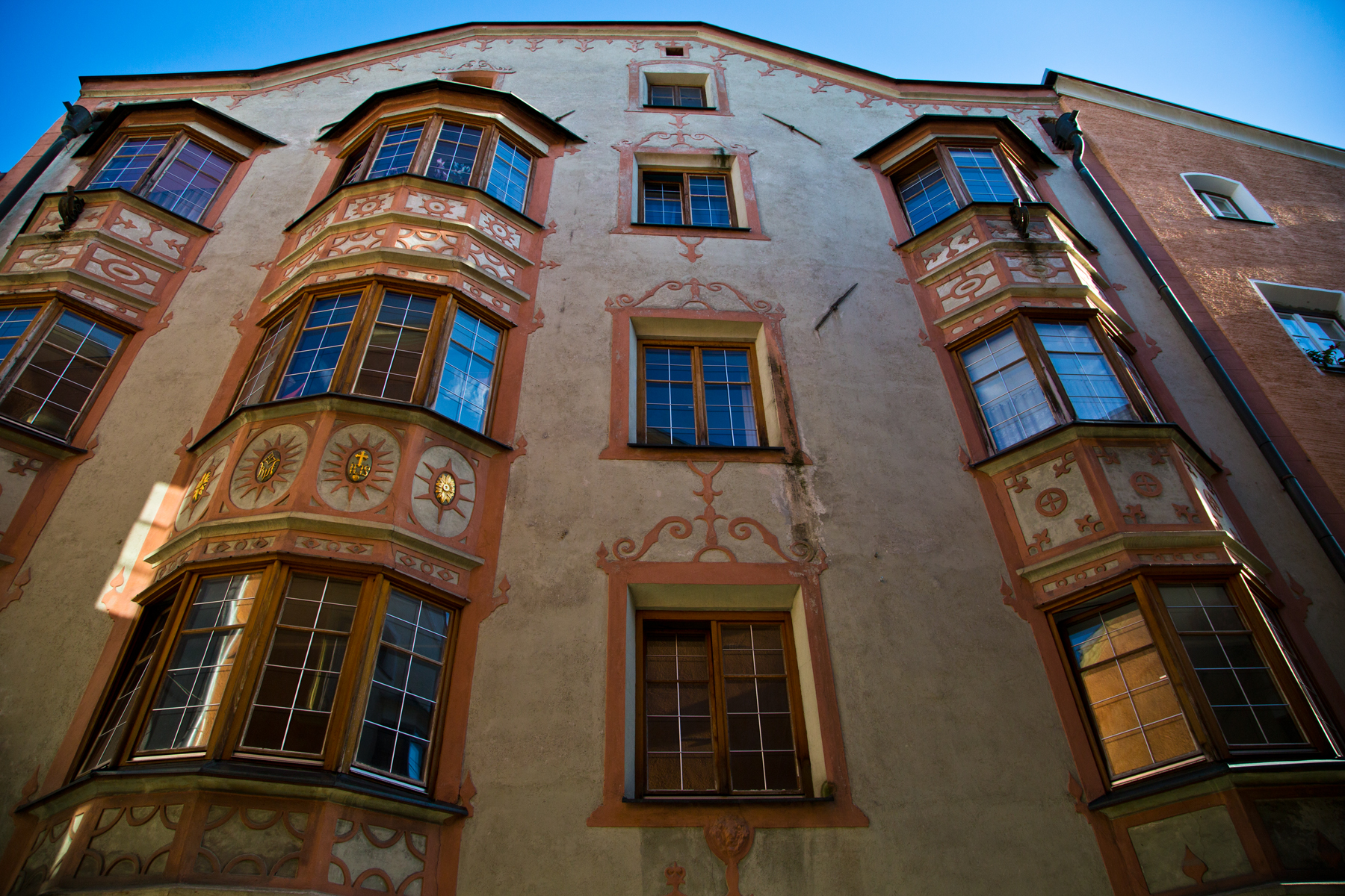 Reich verziertes Bürgerhaus - Hall in Tirol