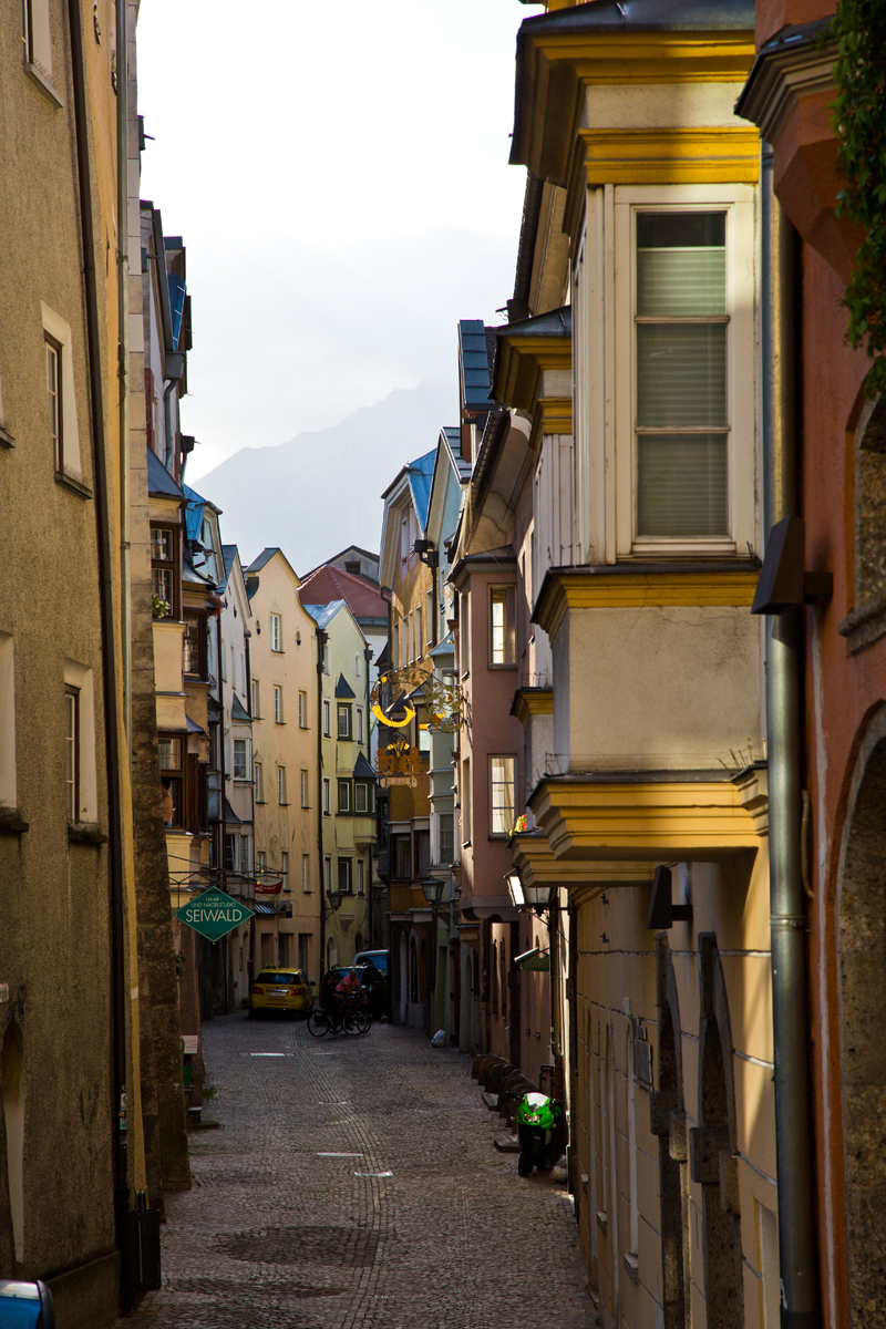 Gasse Altstadt - Hall in Tirol
