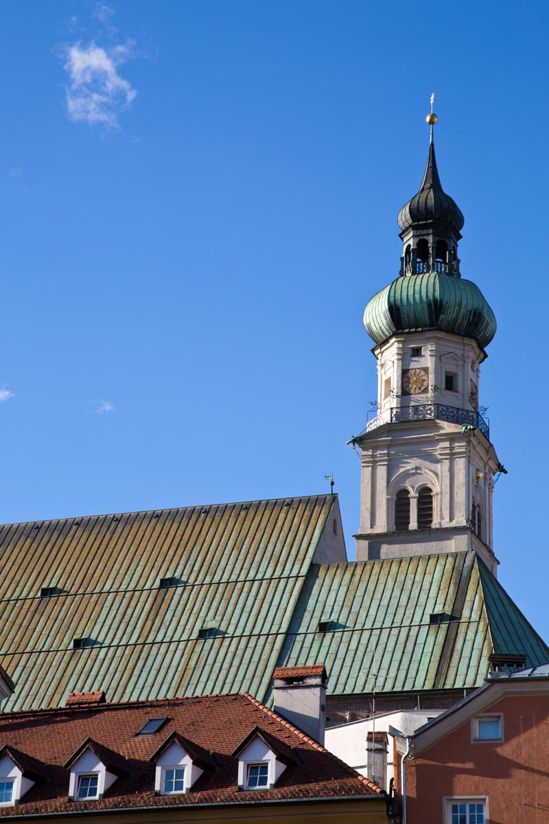 Stadtpfarrkirche St. Nikolaus - Hall in Tirol