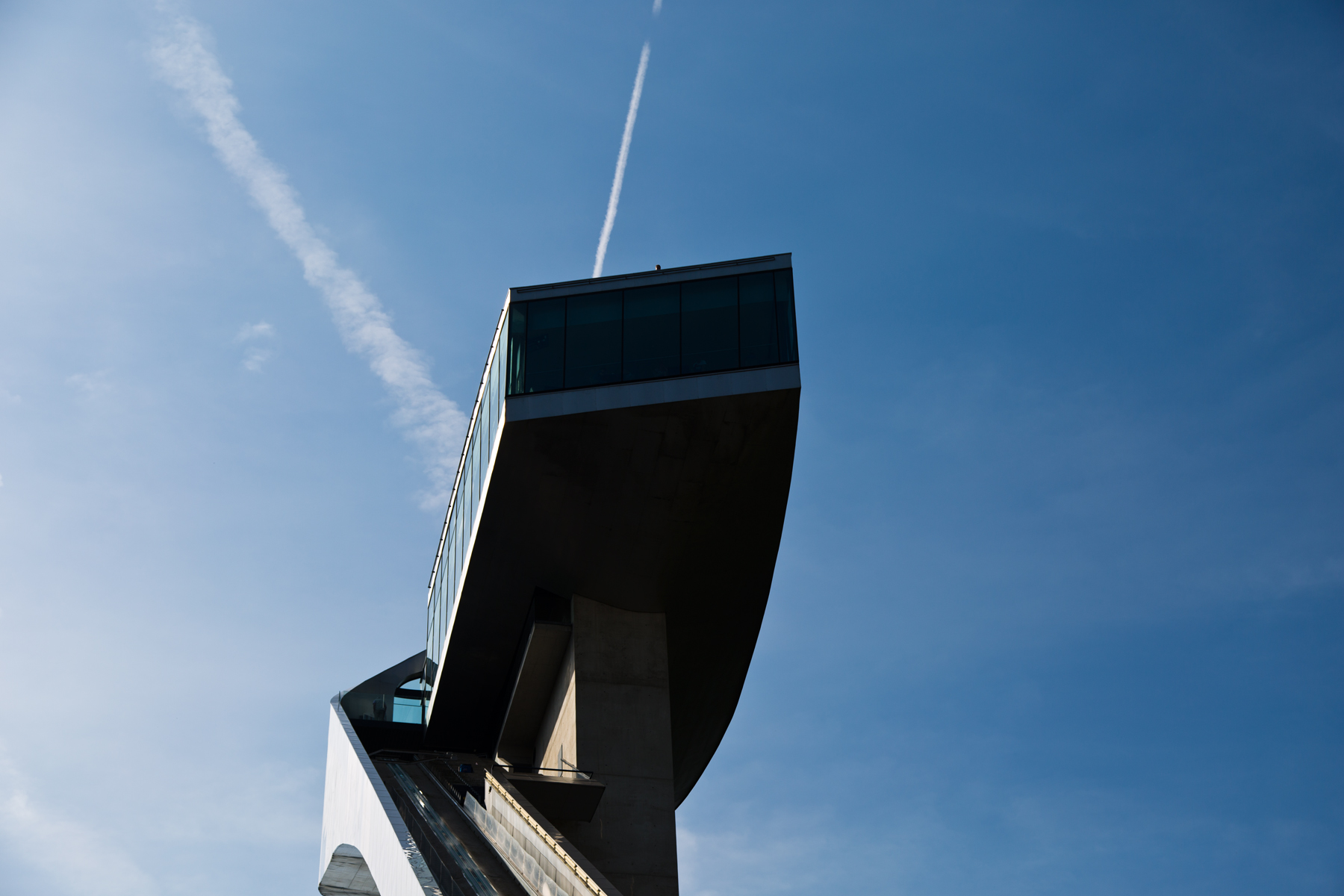 Sprungturm mit Restaurant Bergisel