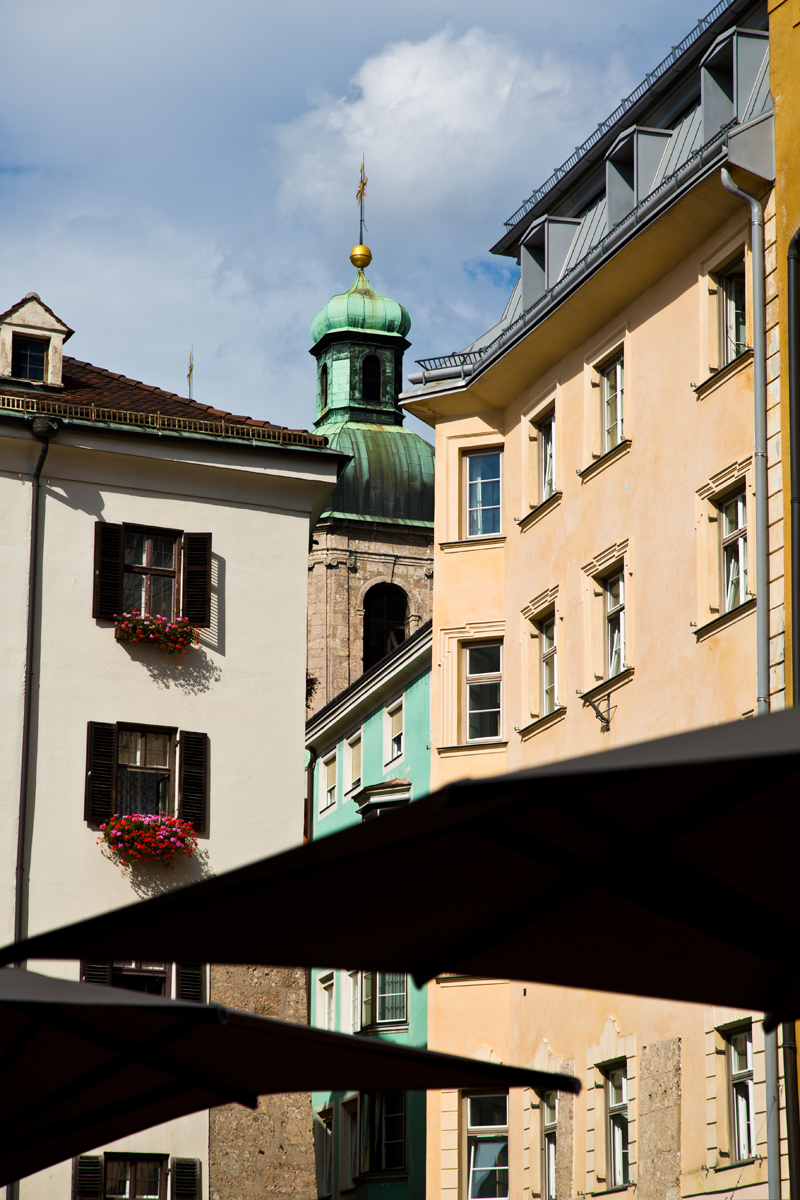 Kirchturm St. Jakob - Innsbruck Tirol