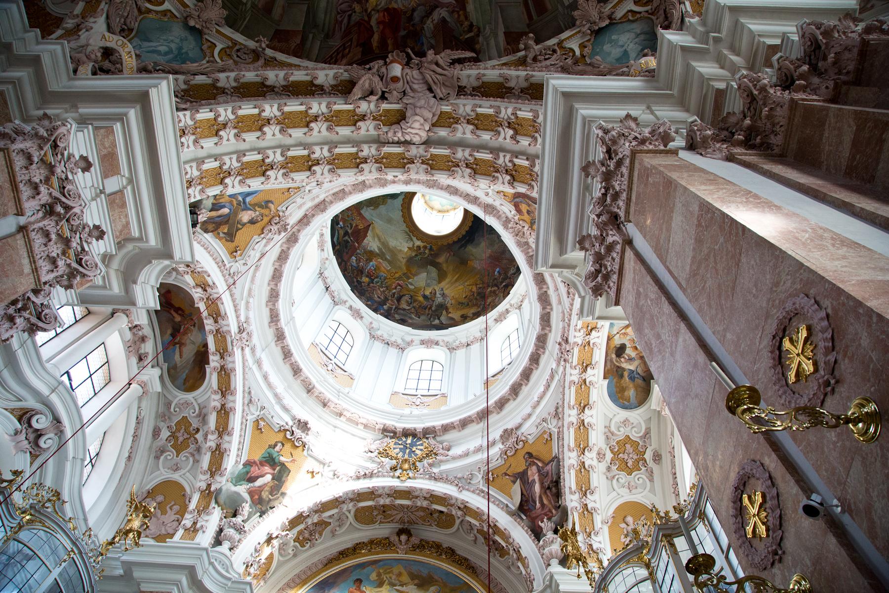 Kuppel St. Jakob - Dom zu Innsbruck