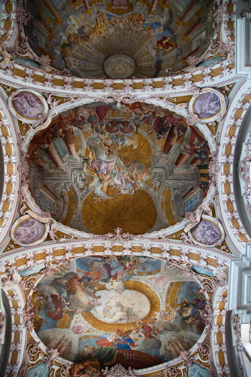 Deckenfresken und Stukkaturen Gebrüder Asam - Dom St. Jakob, Innsbruck