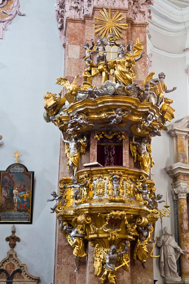 Goldene Kanzel von Nikolaus Moll - Dom St. Jakob, Innsbruck