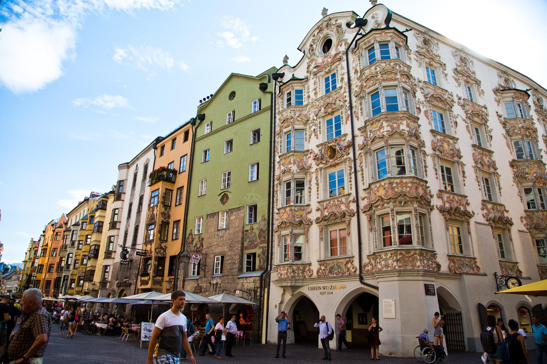 Altstadthäuser - Innsbruck, Tirol