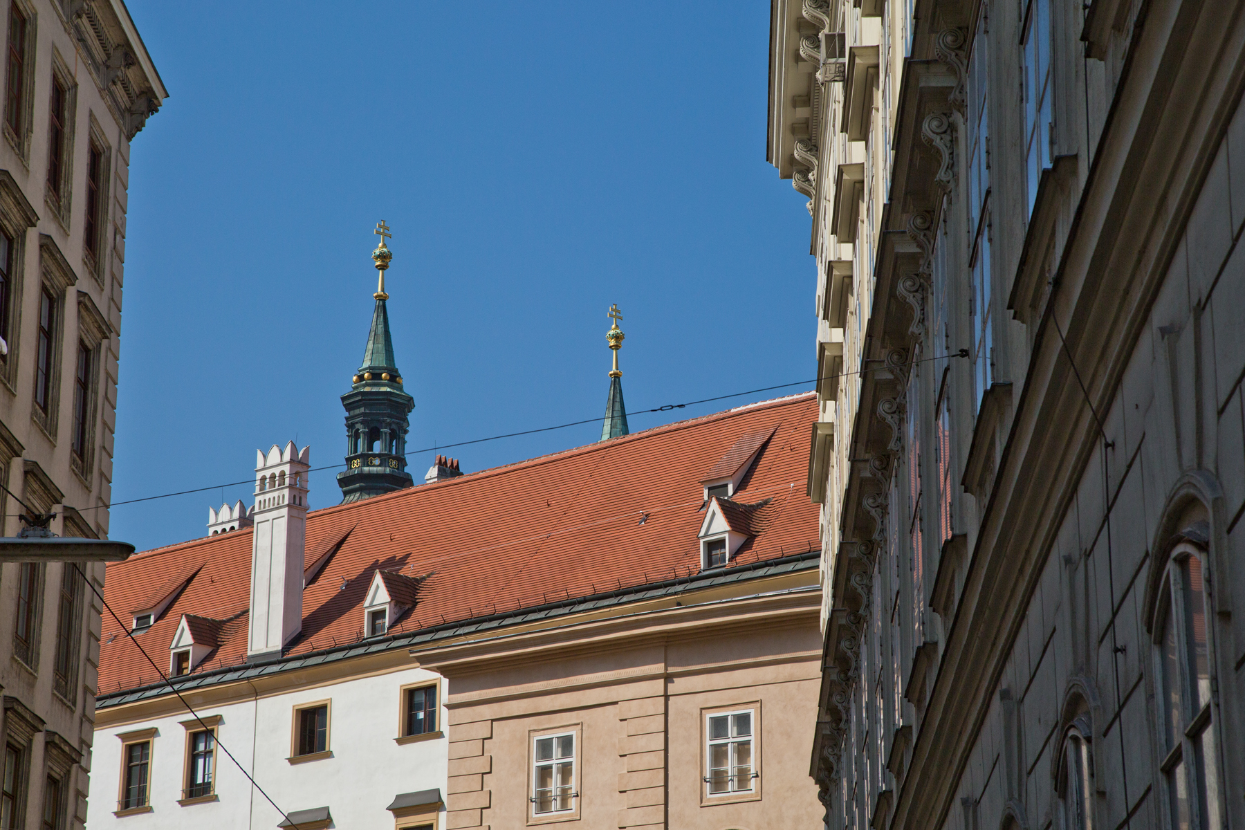 Dachportrait mit Turm