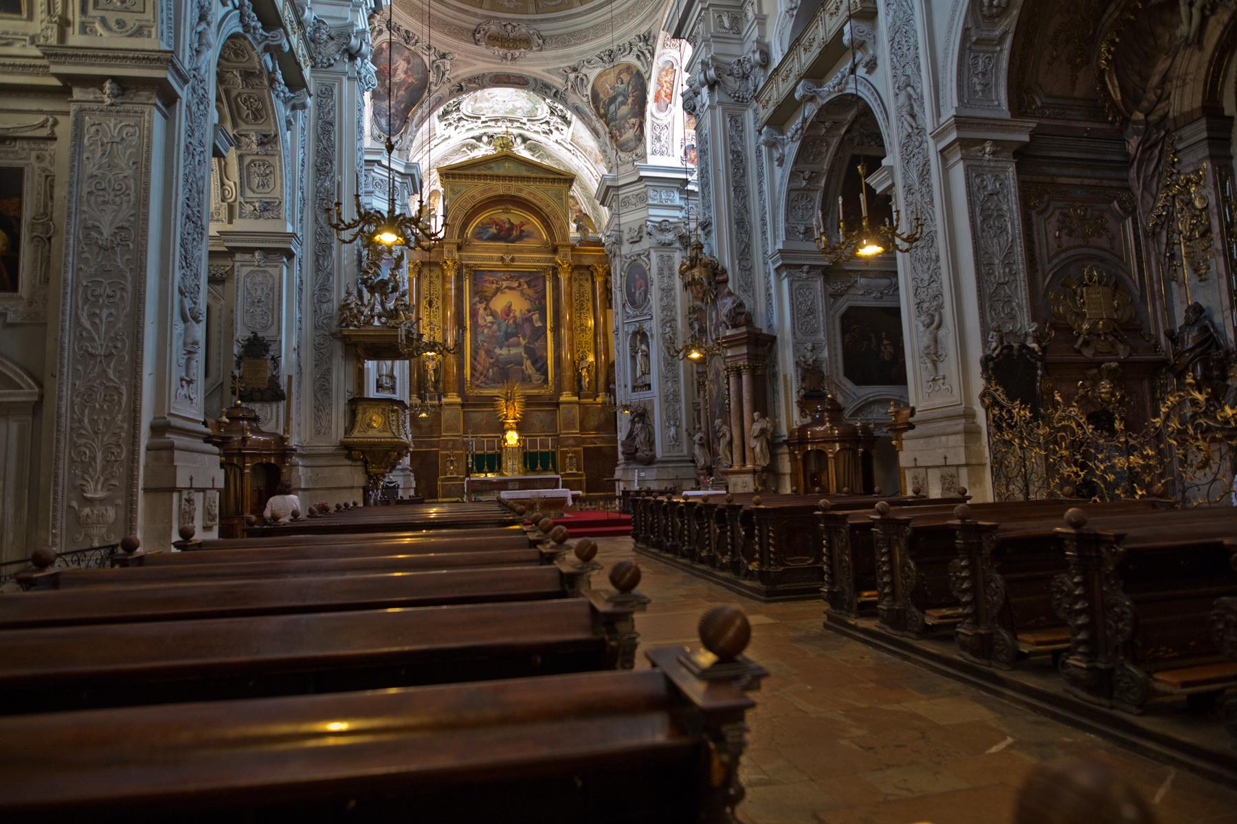 Barocke Dominikanerkirche, Wien
