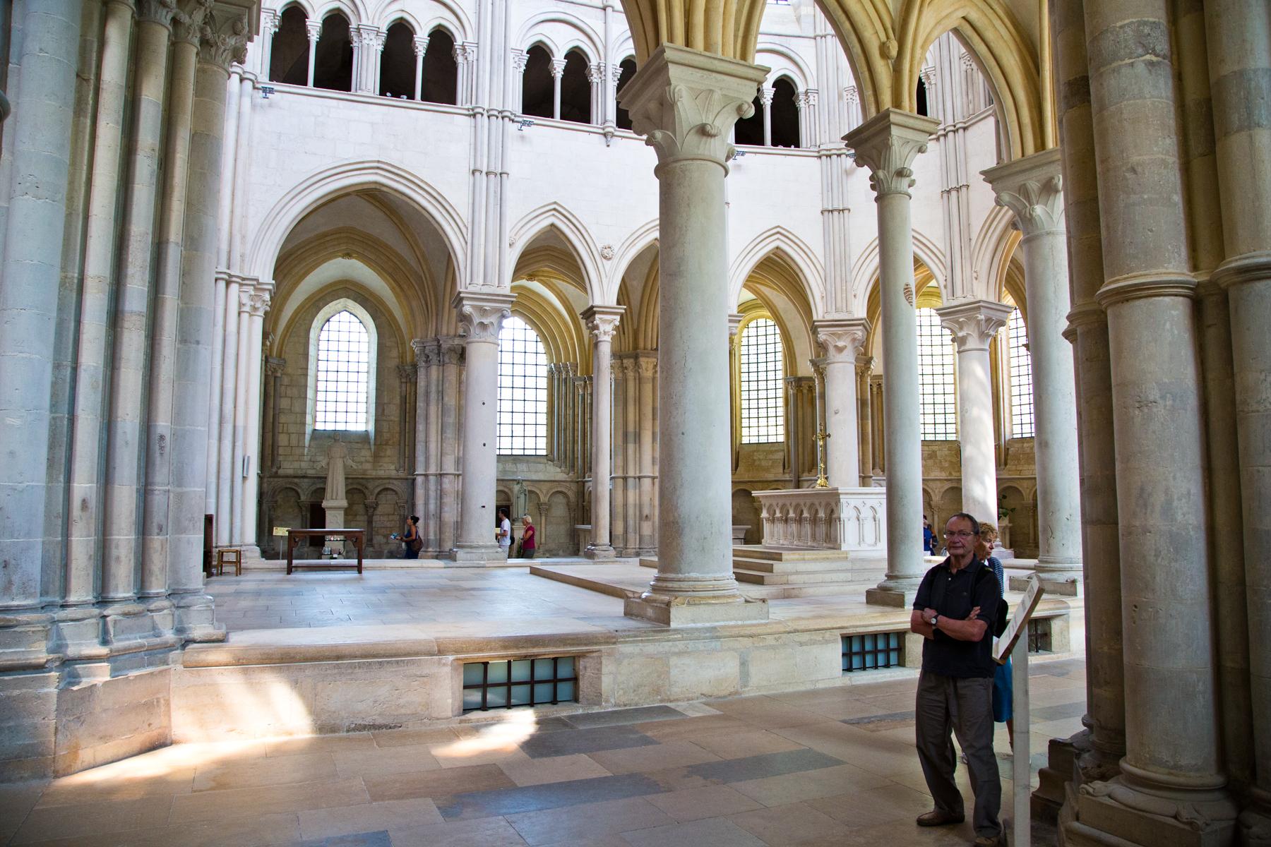 Altarraum - Ste Marie Madeleine (Vézelay)