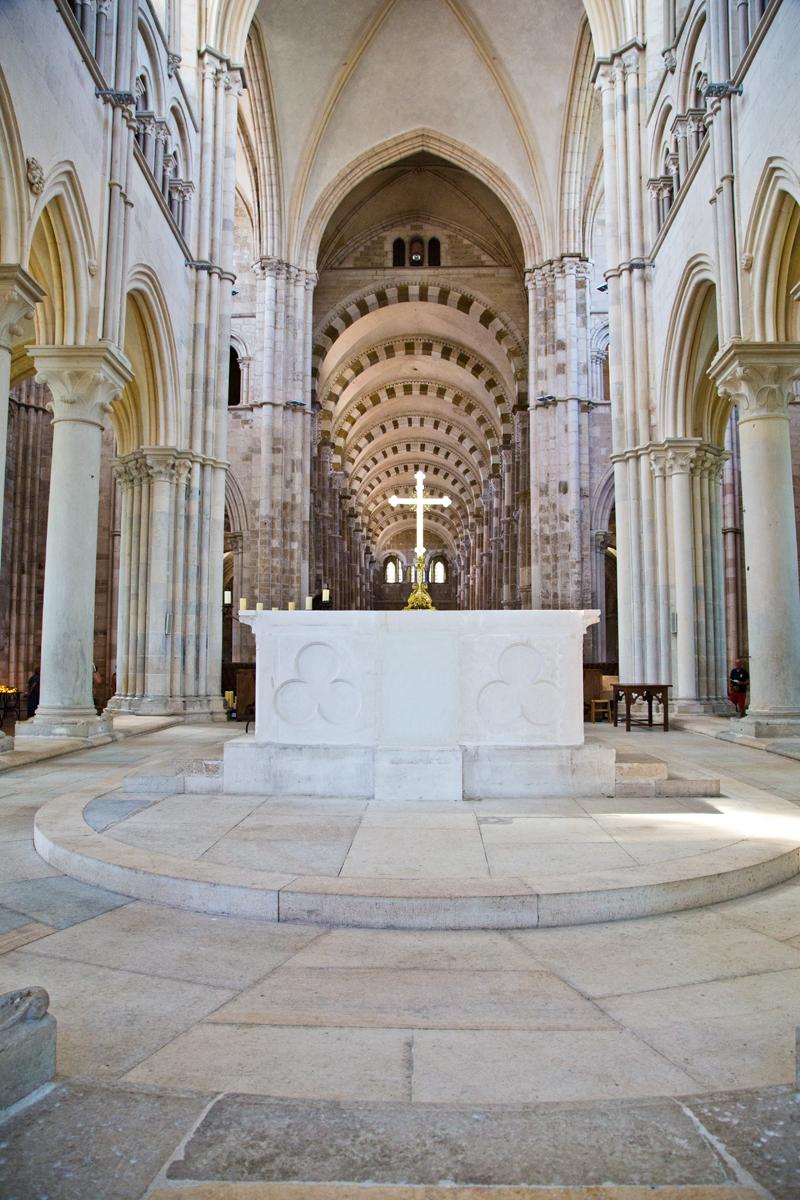 Altarraum - Ste-Marie-Madeleine (Vézelay)