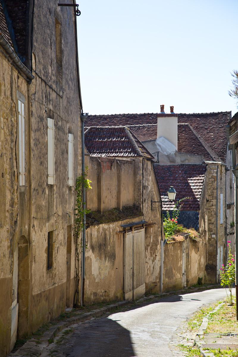 Gasse in Vézelay
