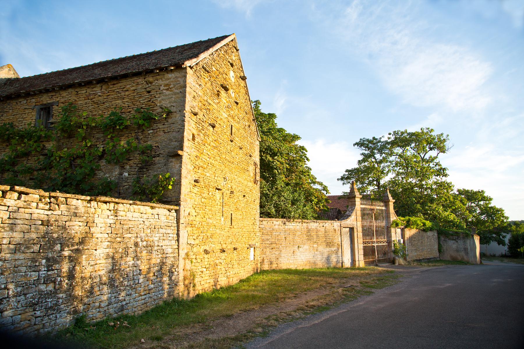 Tor Schloss Besanceuil