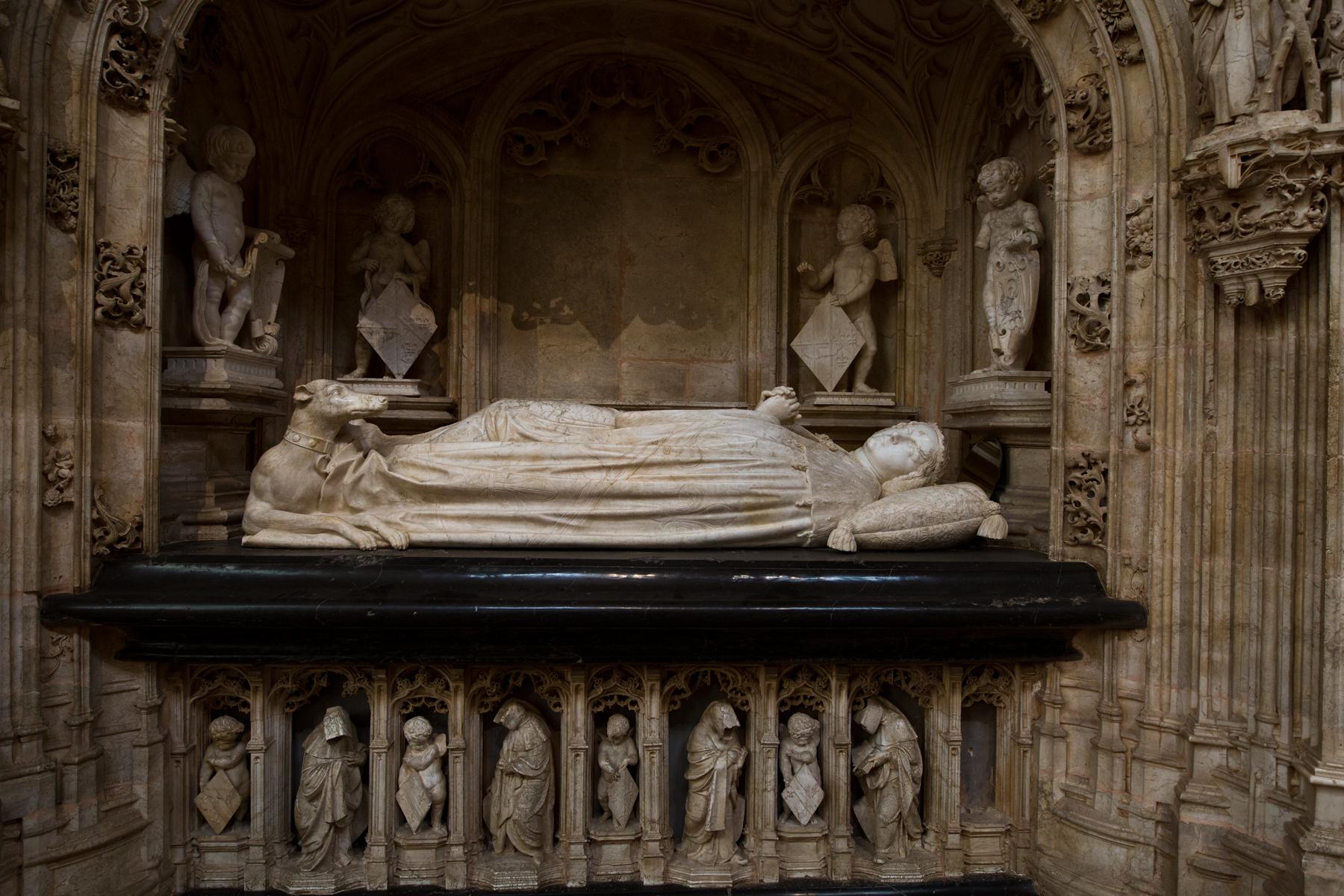 Grabmal Margaretes von Bourbon