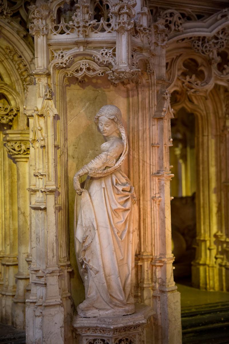Detail Grabmal Grabmal Philiberts des Schönen