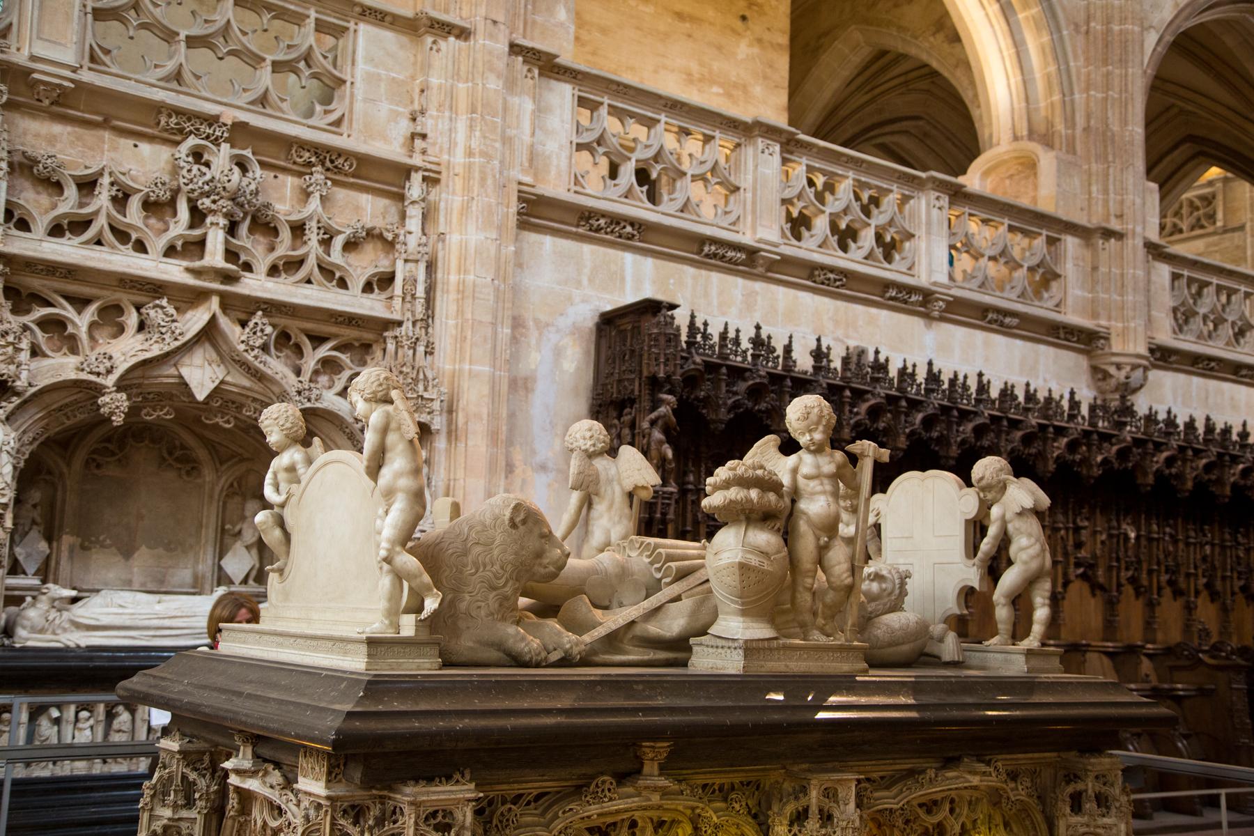 Grabplatte Grabmal Philiberts des Schönen