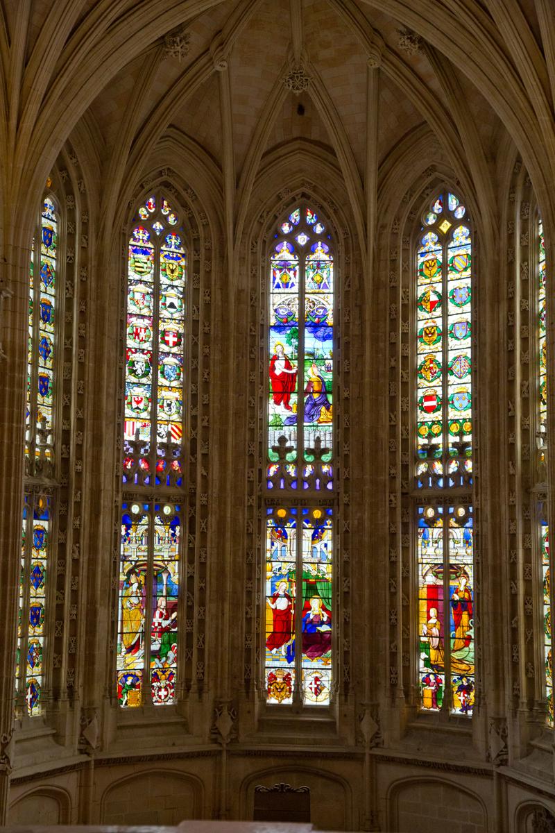 Glasmalerei Fenster Chor